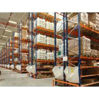 Quality 5 Levels Box Beam Warehouse Pallet Racking Systems For Cold Room ISO Approval wholesale