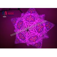 Cheap Customized 2 M diameter Inflatable LED Star Inflatable Balloon Decoration for sale
