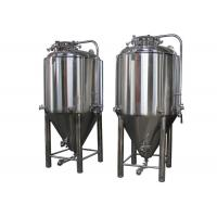 Quality Automatic Jacketed Conical Beer Fermenter 530 X 430mm Side Manway wholesale