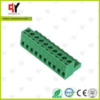 Quality Wire Range 28-12 AWG Pluggable Terminal Block Connector , Electrical Connector Block wholesale