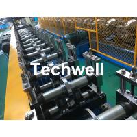 Quality Galvanized Steel Profile Roller Shutter Door Guide Rail Cold Roll Forming Machine wholesale