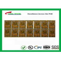 Quality Yellow Multilayer PCB 4 Layer Bluetooth Printed Circuit Board With BGA And Half Holes wholesale