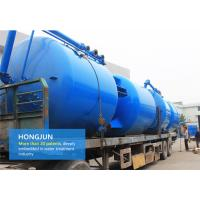 Quality Blue Paint Multimedia Filters Water Treatment Easy Maintenance ISO 9001 Certificate wholesale