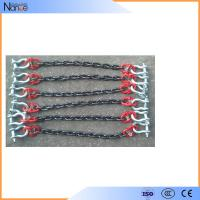 Quality Wear Resistant Polyester Sling Lifting Loading Chain Sling With Hook wholesale