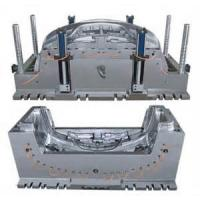 Quality Bumper plastic injection mould,  Vehicle Mould, 45# , hot runner, Polish wholesale