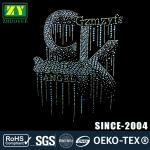 Quality Customzied Size Hot Fix Rhinestone Motif Korean A Stone Shape Nailhead wholesale