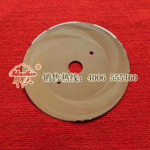 Corrugated circular blade slitting