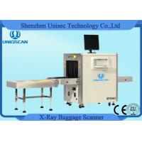 Quality Multi Energy Medium 600*400 mm X Ray Baggage Scanner With 40AWG Wire Resolution wholesale