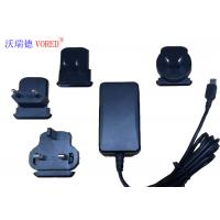 Quality 18W 12V Interchangeable Power Supply For Network Switch 1.5m Cable Length wholesale
