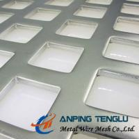 "Quality ""Z "" Type Staggered, Square Hole Perforated Metal, SS304/316, Aluminum, Mild Steel wholesale"