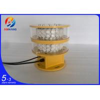 Quality AH-MI/I Dual Obstruction Light / Led flashing warning beacon lights wholesale