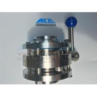 Quality Stainless Steel Food Grade Manual Welded Butterfly Valve (ACE-DF-1A) wholesale