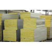 China Sound / Fire Proof Insulated Sandwich Panel Wall Boards 30 - 45kg Density on sale