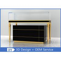 Quality OEM Jewelry Showcase Display Pull - Out Drawers With Lights And Locks wholesale
