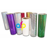 Quality Various Design Holographic Thermal Lamination Film for Gift Wrapping wholesale