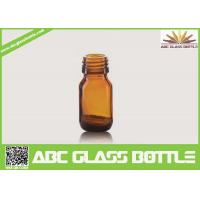 Cheap Wholesale 20ml Amber Glass Bottle For Liquid Medicine for sale