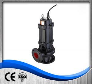 Quality Commercial Sewage Treatment Pump , Cast Iron Submersible Pump 1.5kw Liquid PH 6-10 wholesale