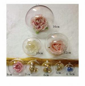 China 4.5cm 5cm 6cm 7cm 8cm 10cm 12cm plastic ball pot Christmas candy packaging on sale