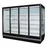 Buy cheap Upright Display Commercial Beverage Cooler Refrigerator with Embraco Compressor from wholesalers