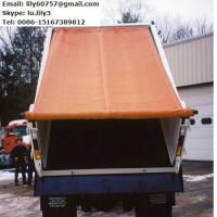 China China manufacturer PVC coated fabric, waterproof PVC tarpaulin for truck cover on sale