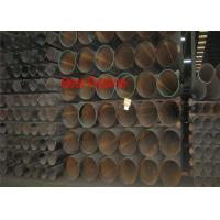 Quality PN-EN 10217-2 ERW Steel Pipe Non Alloy / Alloy Steel Tubes For Pressure Purposes wholesale