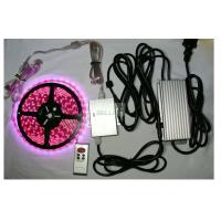 Quality Indoor / outdoor bright remote RGB LED Strips Light 12v 24v flexiable PCB Material wholesale