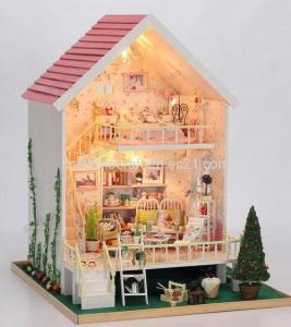 Quality DIY House,Gifs, 3D Puzzle, Dollhouse, Models,130-12 wholesale