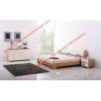 Quality Fabric upholstered headboard and MDF Bed bottom in Modern bedroom furniture wholesale