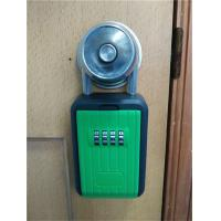 China Combination Metal Portable Lock Box For Keys , Pocket Home Key Lock Box on sale