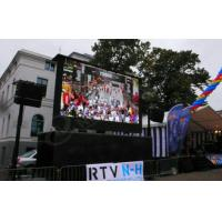 China Portable Truck Mounted advertising LED Display Panel P10mm , Movable LED Display on sale