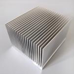 Quality T3 - T8 Aluminum Radiator Profile Aluminum Extrusion Heat Sink For Heat Exchanging wholesale