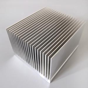 T3 - T8 Aluminum Radiator Profile Aluminum Extrusion Heat Sink For Heat Exchanging