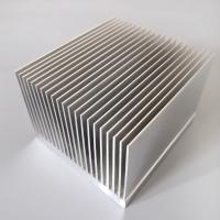 Cheap T3 - T8 Aluminum Radiator Profile Aluminum Extrusion Heat Sink For Heat Exchanging for sale