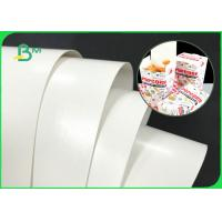 Cheap Double Sides White 300GSM 350GSM PE Coated Paper Board For Fast Food Boxes for sale