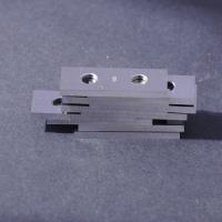 Quality Tungsten Carbide Reversible Planer Knife Installed on the Helical Cutter Body wholesale