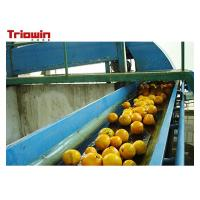 Quality Automation Orange Juice Processing Line , Fruit Juice Manufacturing Plant Orange Extractor wholesale