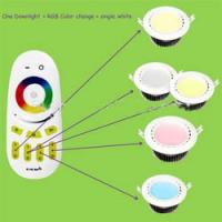 Quality Home 0.5W - 18W Led Recessed Ceiling Downlights , WIFI Wireless Touching RGB Controller wholesale
