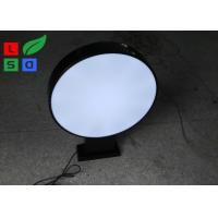 Quality Double Sided Waterproof LED Outdoor Light Box Round, Square, Oval Shape for Store and Bars Using wholesale