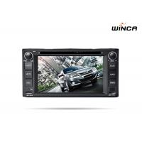 Quality Toyota Car Radio Dvd Bluetooth Navigation 6.2 Screen Double Din Type wholesale