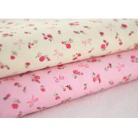 Quality Soft Floral Stretch Corduroy Fabric Cloth For Baby Children wholesale
