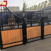 China Nice Partitions Bamboo Horse Stable Equine Stall System In Massachusetts on sale