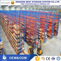 China Dexion type competitive cost warehouse pallet storage rack heavy duty racking metal rack pallet rack on sale