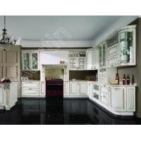 China Solid Maple Kitchen Cabinet on sale