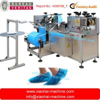 Quality PE Plastic Waterproof Shoe Cover Making Machine Electrical Control wholesale