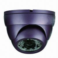 Quality Vandal-proof CCD Camera with 1/3-inch Sony CCD, 420TVL Horizontal Resolution and 20m IR Distance  wholesale