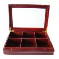 Quality wooden gift tea box wholesale