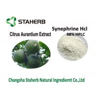 China 98% Synephrine Citrus Aurantium Extract , Bitter Orange Peel Extract HCL Water Soluble on sale