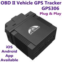 Quality GPS306 OBD II Car Vehicle Security GSM GPRS GPS Tracker + Car On-Board Diagnostics Trouble-Shoot Tool W/ iOS/Android App wholesale