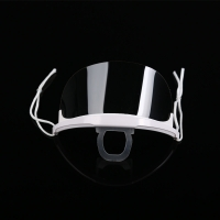 Quality Fog Proof Ergonomic ABS PET Transparent Mouth Cover wholesale