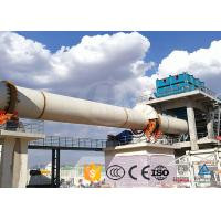 Quality Large Capacity Cement Production Line Indirect Heating High Thermal Efficiency wholesale